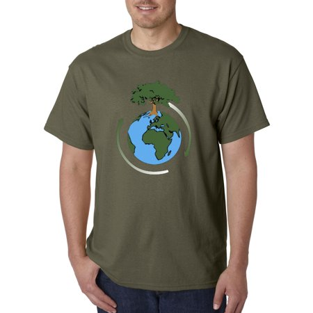New Way 488 - Unisex T-Shirt Earth Day Save Our