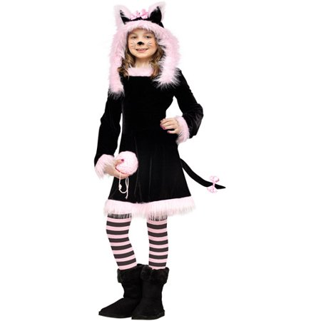 Sweet Kitty Child Halloween Costume](Kitty Cat Halloween Costumes)