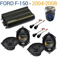 Ford F-150 2004-2008 Factory Speaker Replacement Harmony (2) R68 & CX300.4 Amp - Factory Certified Refurbished