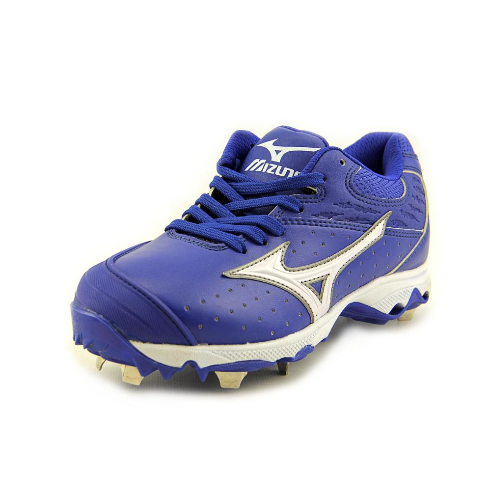 Mizuno 9-Spike Sweep   Round Toe Leather  Cleats