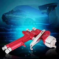 Zaqw Paint Spray Gun, Paint Gun,600CC Car Gravity Feed HVLP Paint Spray Gun 1.3mm Nozzle