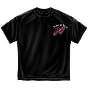 Novelty Men's  Classic South Will Rise T-shirt Black