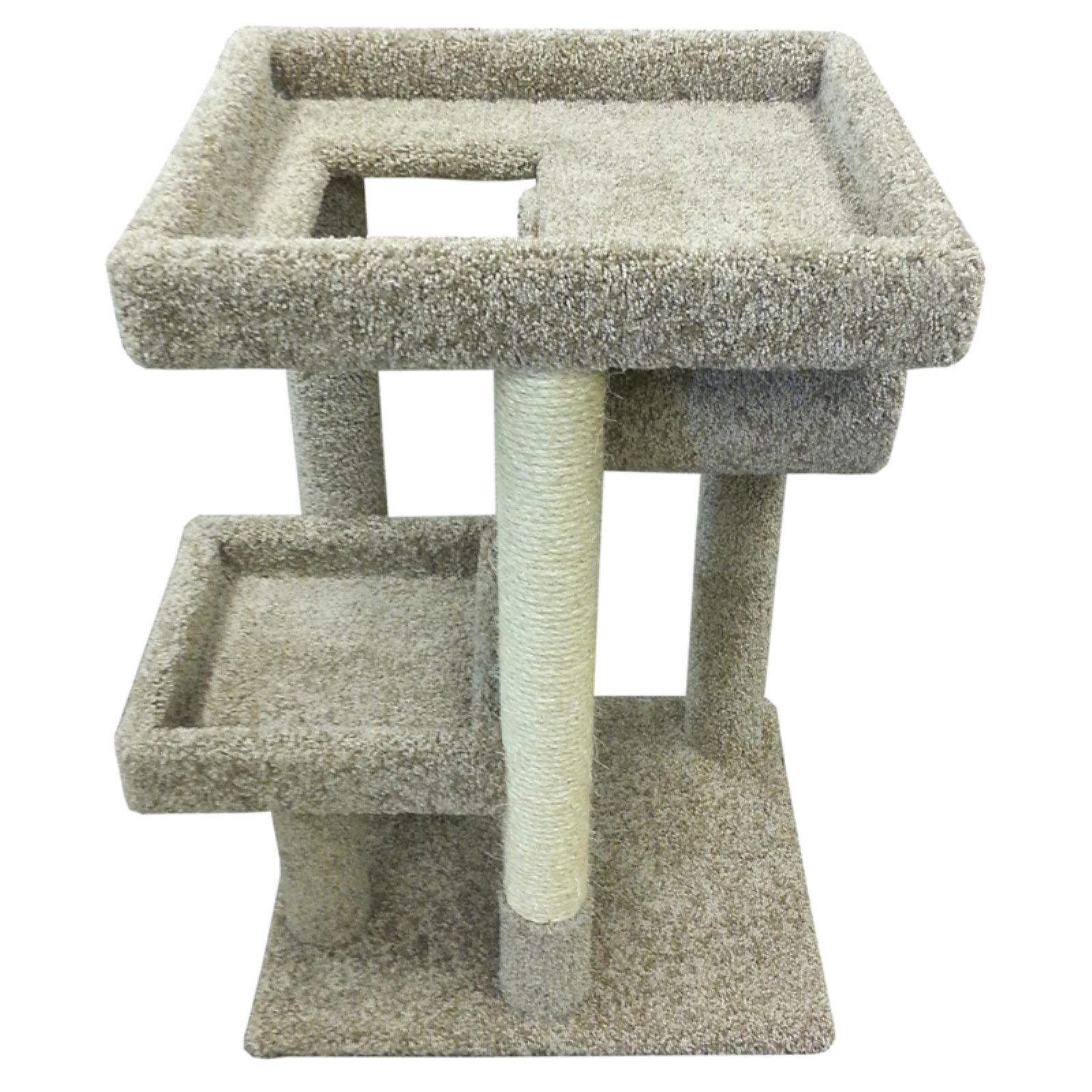 New Cat Condos 37 in. Cat Scratching Lounger