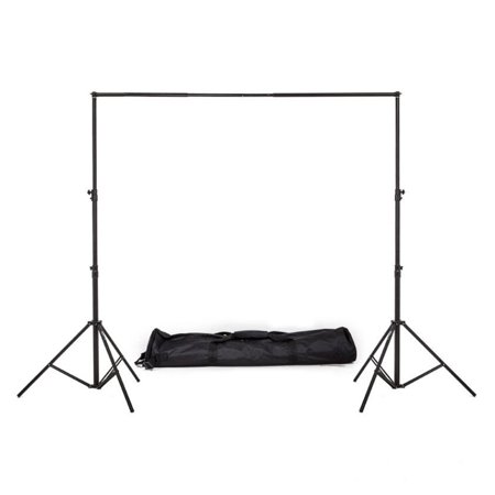 Efavormart Heavy Duty Pipe and Drape Kit Wedding Photography Backdrop Stand-6.5ft
