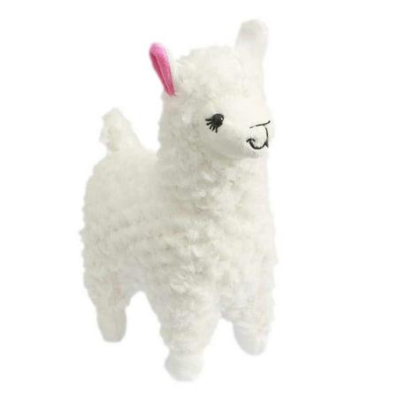 Cute Alpaca Llama Plush Toy Creamy White Japan Animal Children Doll 23cm (Animal Doll Toy)