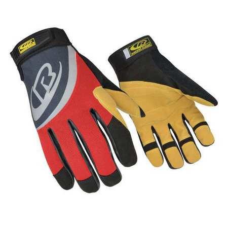 RINGERS GLOVES 355-11 Rescue Gloves,XL,Red,PR (Rigger Gloves)
