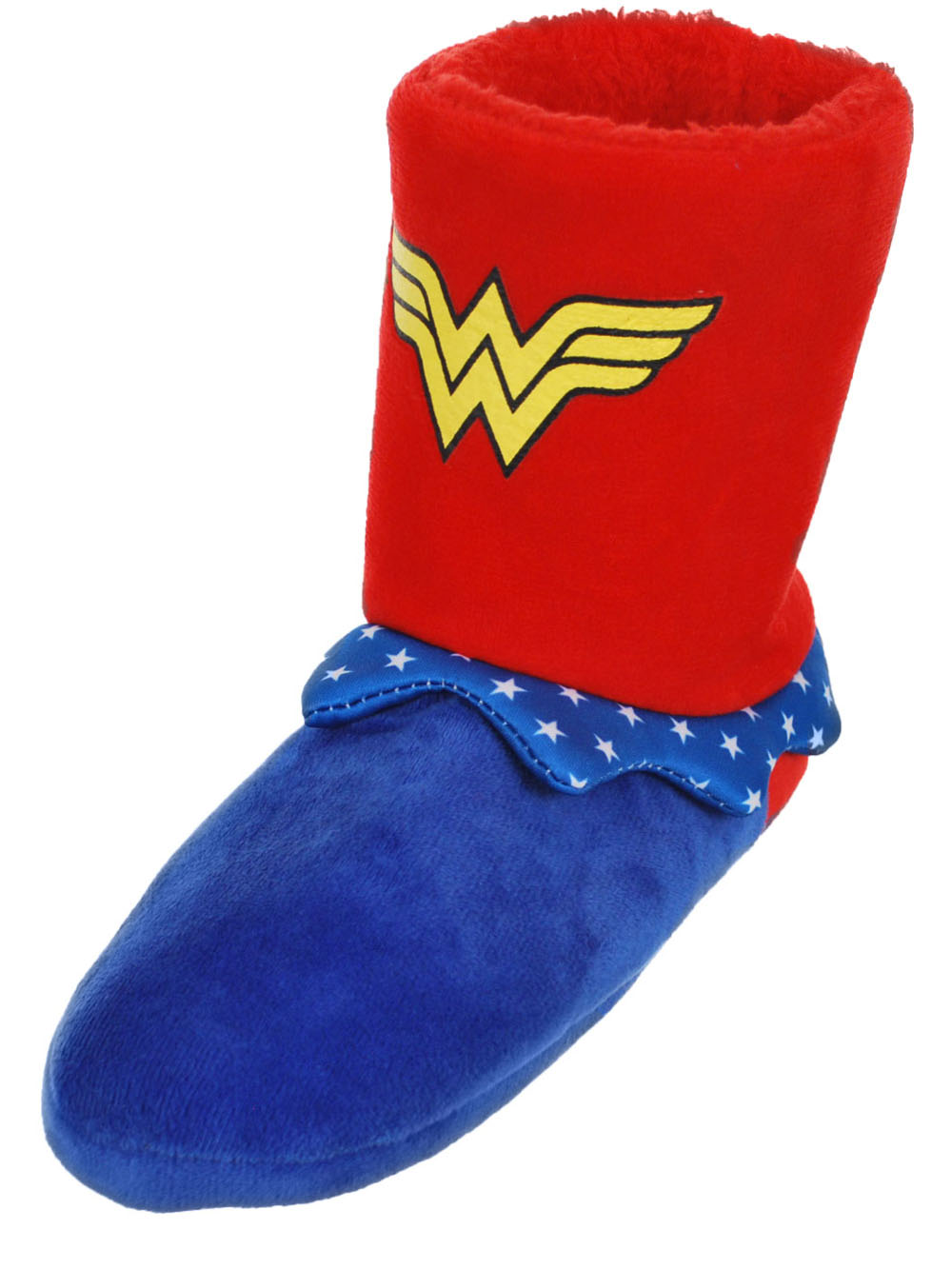 Wonder Woman Girls' Hi-Top Slippers (Youth Sizes S - XL)