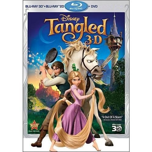 Tangled (Blu-ray 3D   Blu-ray   DVD)