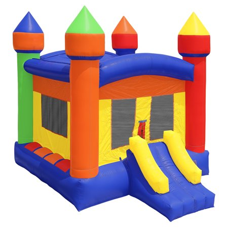 Inflatable Hq Commercial Grade Bounce House 100  Pvc Castle Jump Inflatable Only