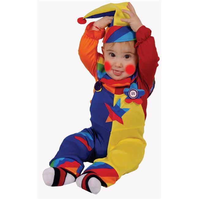 Dress Up America 586-6-12 Cutie Clown - Size 6-12 Months - image 1 de 1