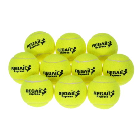10pcs/bag Tennis Training Ball Practice High Resilience Training Durable Tennis Ball Training Balls for Beginners Competition - image 3 of 7