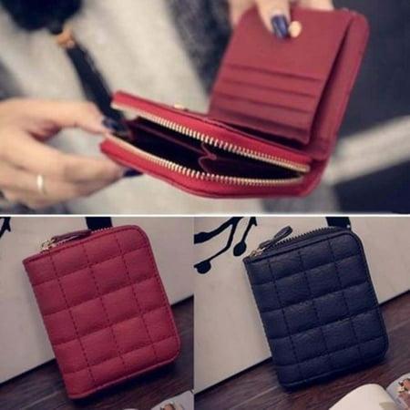 Utility Lady Short Women Mini Money Wallet Fold Bag Coin Purse Card Holder Wallet Zipper (Wallet Money Women)