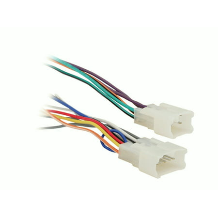 metra electronics 70-1761 radio wiring harness turbowire - image 1 of