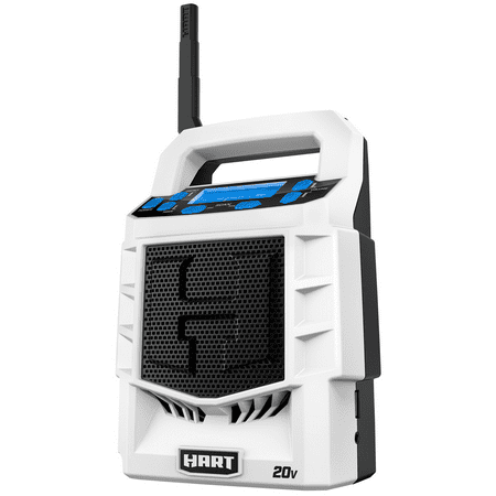 HART 20-Volt Cordless Bluetooth Radio (Battery Not Included)
