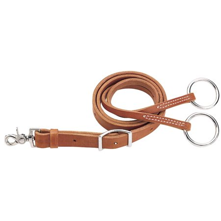 - Leather Training Fork, Girth Attachment, Hermann Oak Russet harness leather construction By Weaver Leather,USA