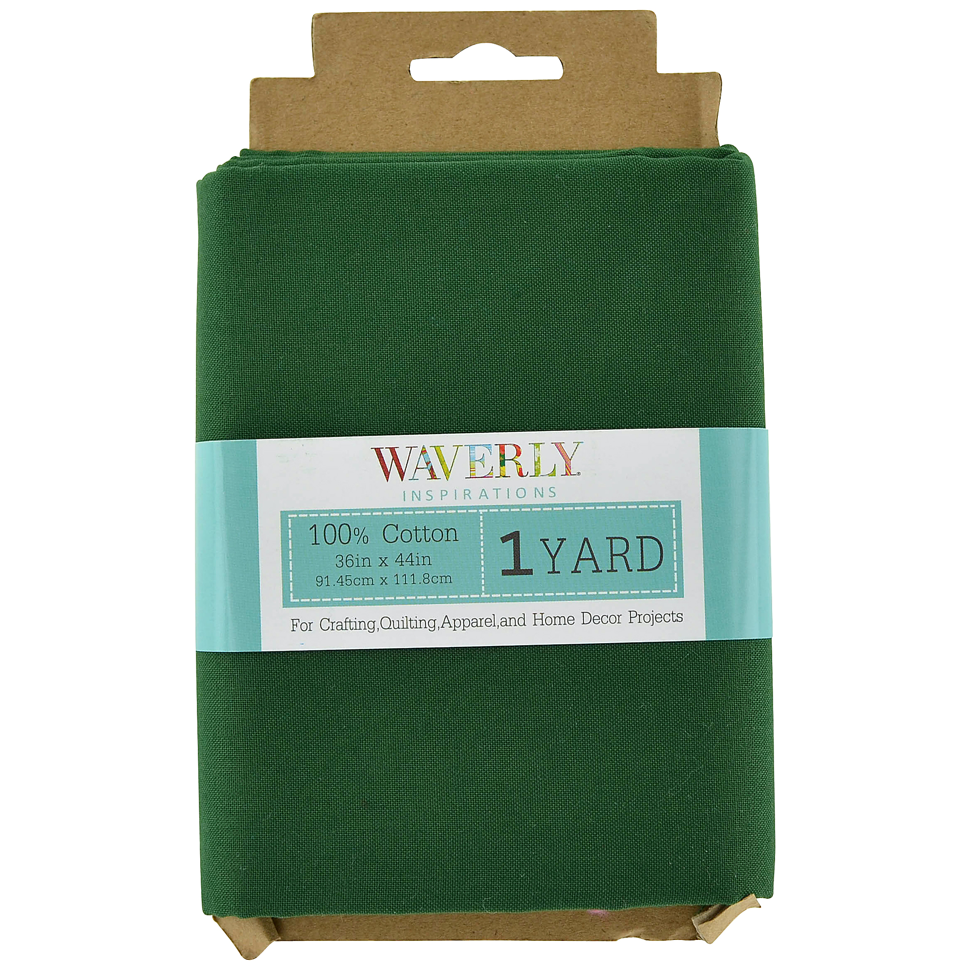 Waverly Inspirations 100% Cotton Fabric 1 yd Evergreen