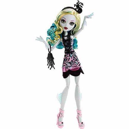 Monster High Frights Camera Action Black Carpet Lagoona Blue Doll - Black Monster High Doll
