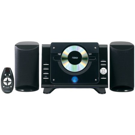 Naxa Ns-435 Micro Hi-fi System – 4.4 W Rms – Ipod Supported – Black – Cd Player – Am, Fm – 2 Speaker[s] – Cd-da, Mp3 – Remote Control (ns-435)