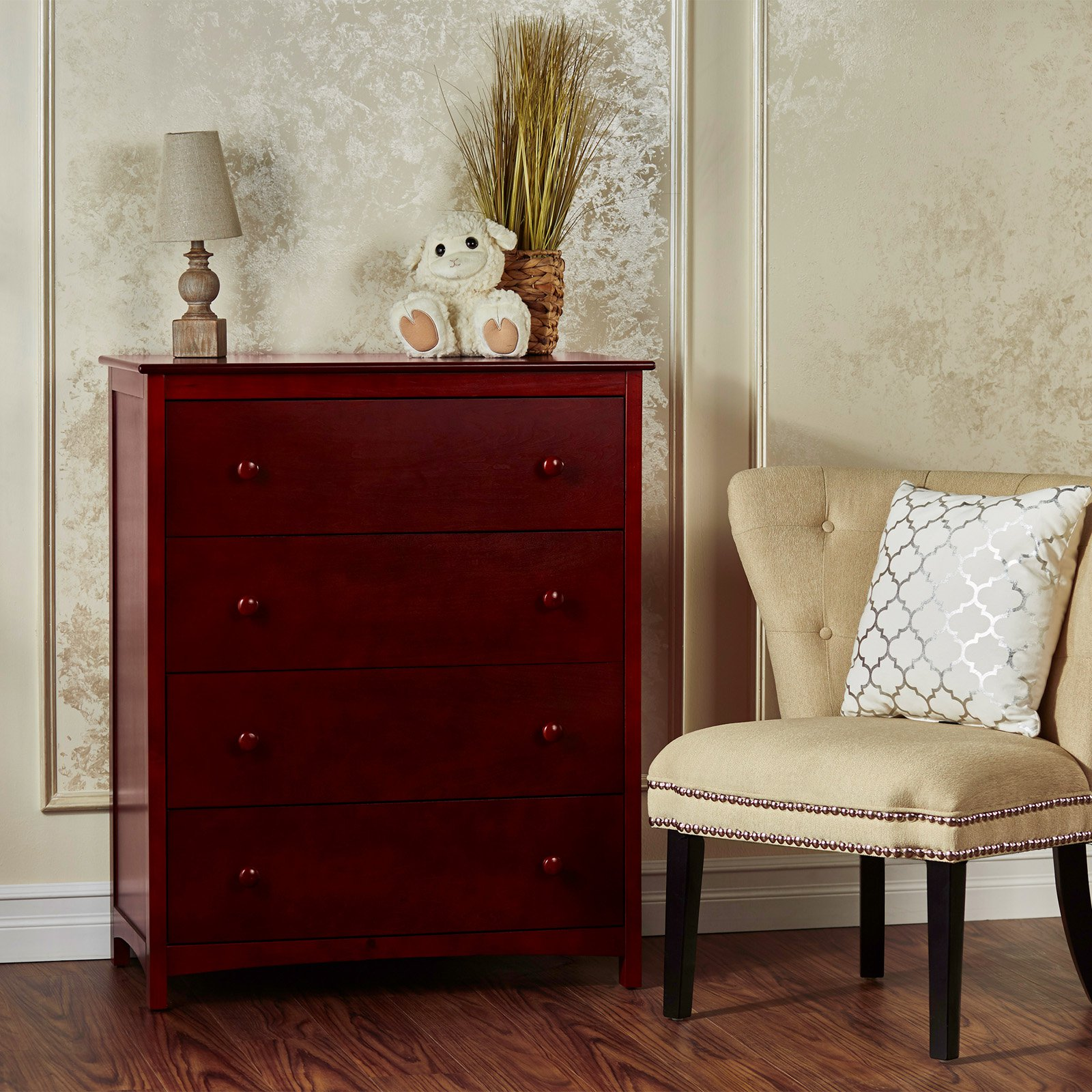 Dream on Me Arlington 4-Drawer Chest, Choose Your Finish