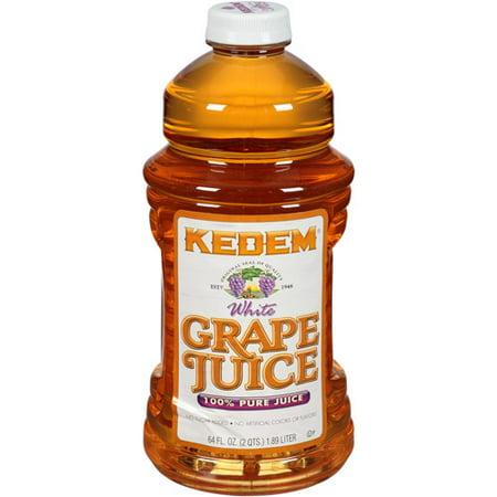 Kedem 100% Juice, White Grape, 64 Fl Oz (Pack of 8)](Kids Graph)