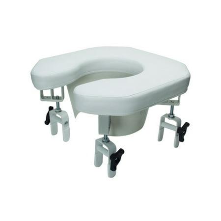 Spa Toilet Seat (Lumex Multi-Position Open Padded Raised Toilet Sea Open Padded Raised Toilet)