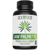 Zhou Nutrition Saw Palmetto Capsules, 100 Ct