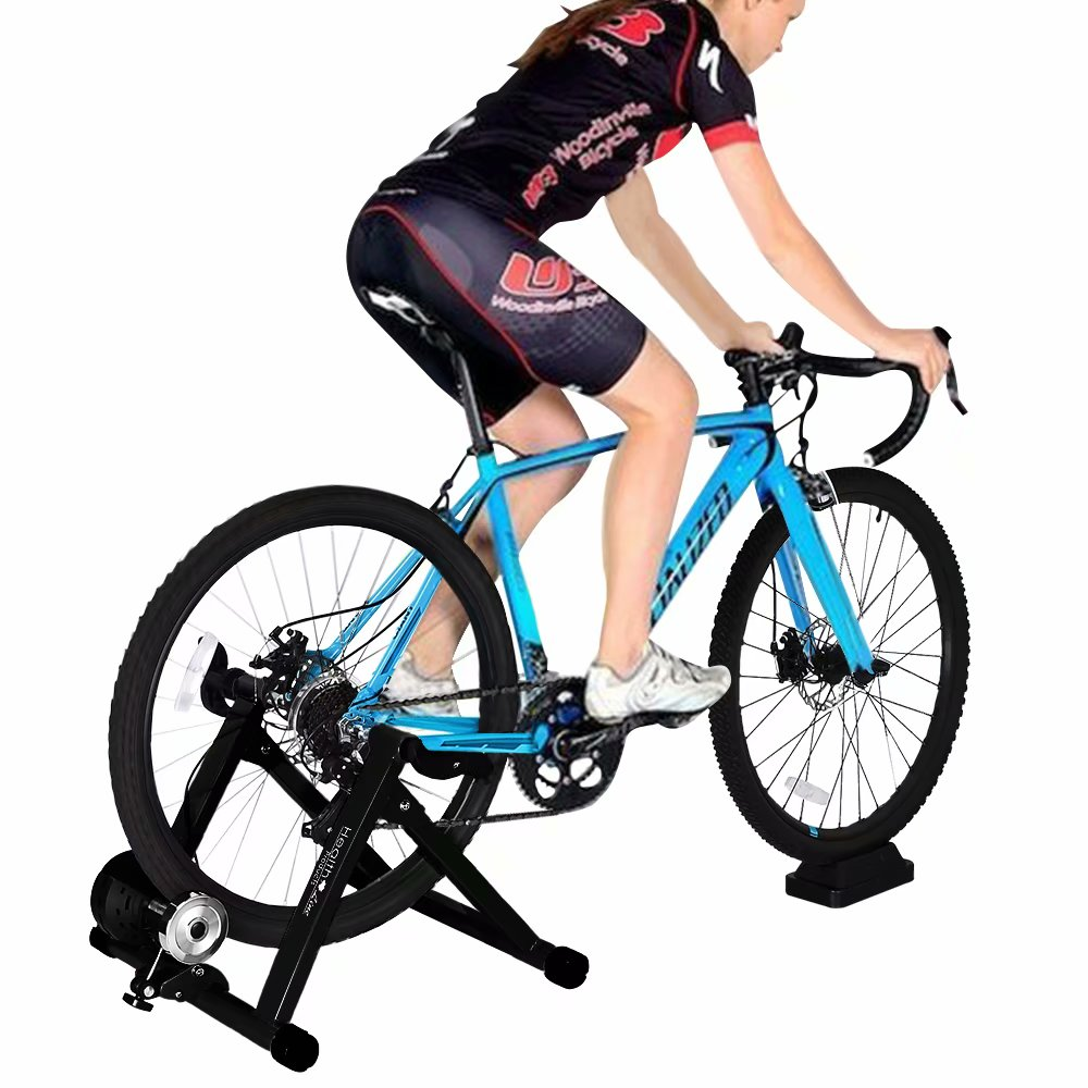 Bicycle Trainer Stand Stationary Stand Bike Magnetic For Indoor Exercise
