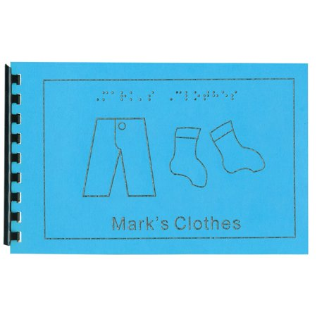 Childrens Braille Book - Clothes - Childrens Online Clothes