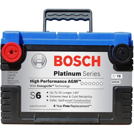Bosch S6 High Performance Agm Battery