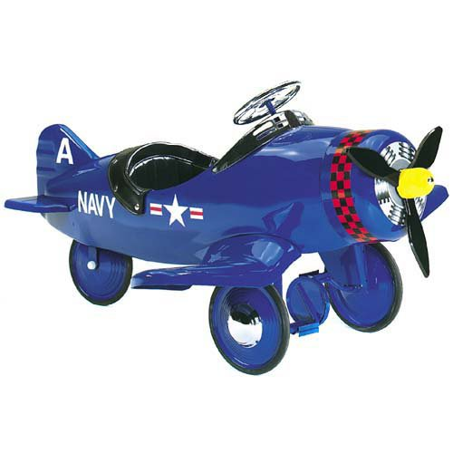Airflow Collectibles Corsair Plane Pedal Riding Toy