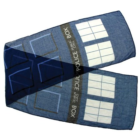 Tardis Halloween Costume (Doctor Who Tardis Scarf)