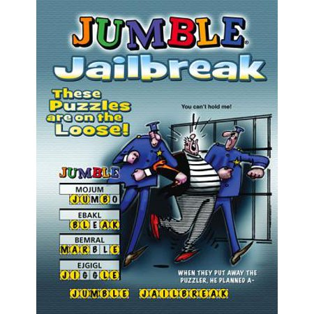 Jumble Jailbreak : These Puzzles Are On the Loose!