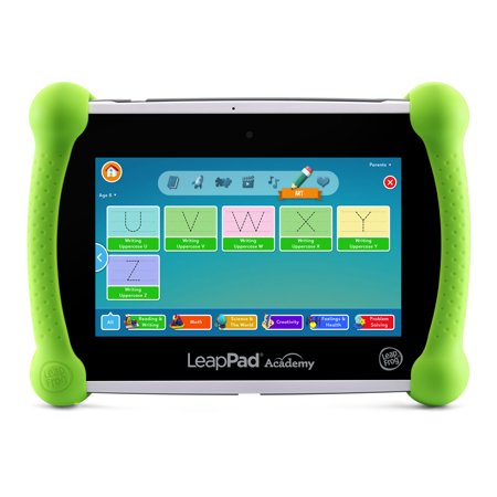 LeapFrog LeapPad Academy Green Kids Tablet with LeapFrog (Best Leappad Games For 3 Year Old)