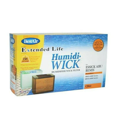 BestAir CB41 Extended Life Humidifier Wick Filter, Aluminum
