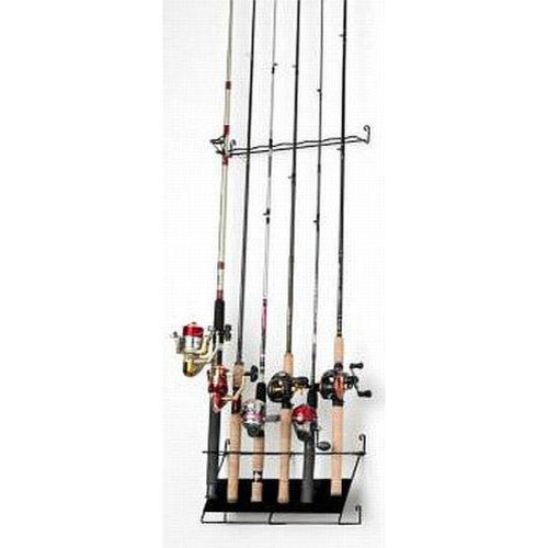 RackEm Vertical 6-rod fishing rod rack economy