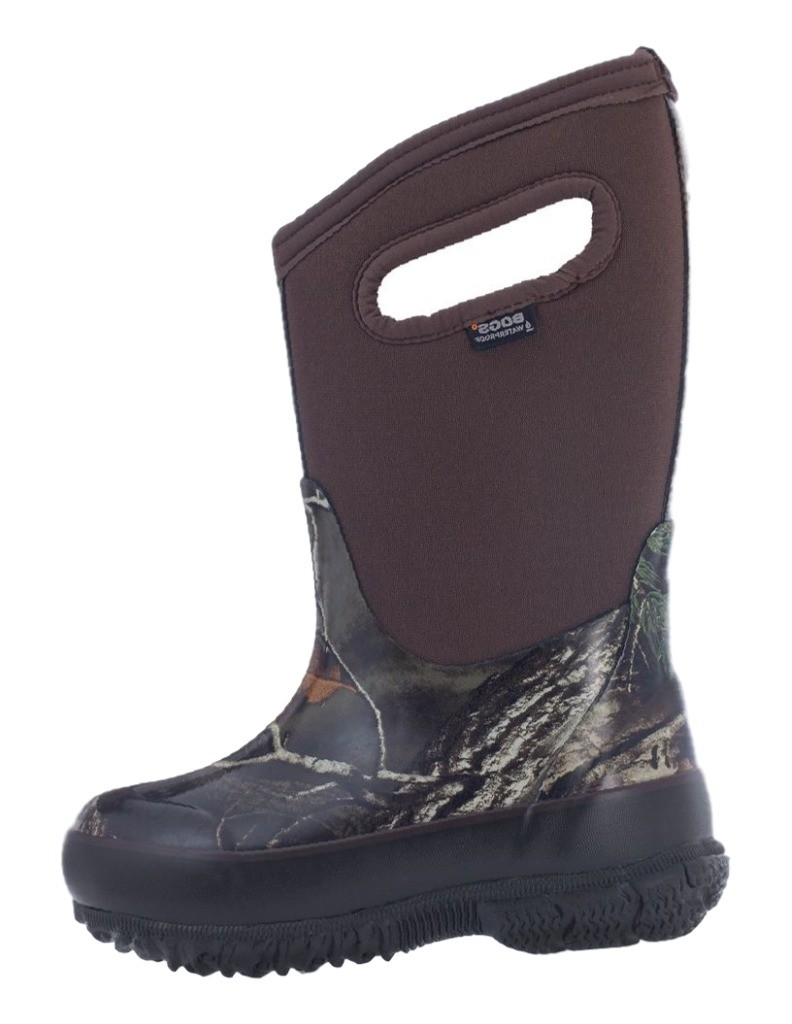 Bogs Boots Boys Kids Classic Camo Waterproof Rubber Realtree 71999 by Bogs