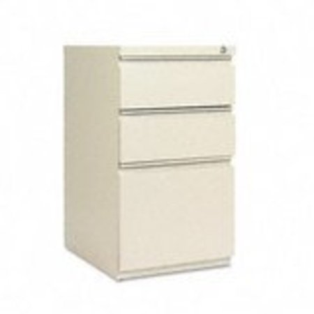 Alera 3 Drawers Vertical Lockable Filing Cabinet, Putty ()