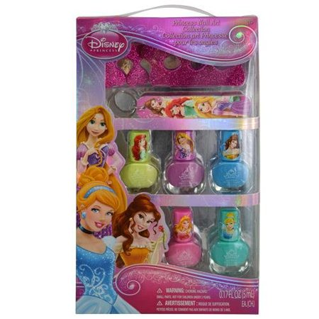 Disney Princess Nail Art Collection with Colorful Polish and Care Accessories](Disney Halloween Nail Art)