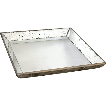 A&B Home Mirror Glass Tray