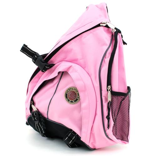 Backpack Messenger Bag Cross Body Organizer Single Strap Sling Shoulder Carryall Pink One Size