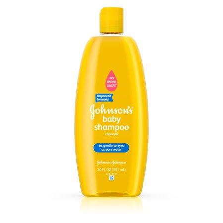 Johnson's Baby Tear Free Shampoo, 20 Fl. Oz. - Walmart.com