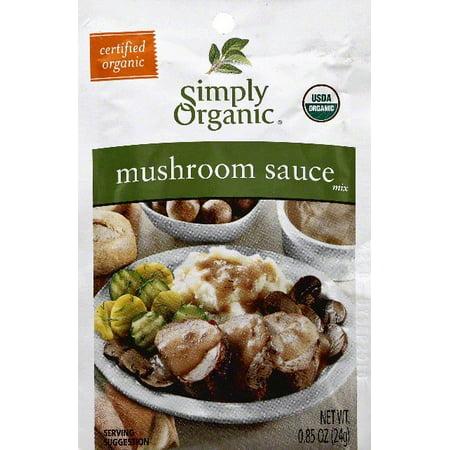 (3 Pack) Simply Organic Sauce Mix, Mushroom
