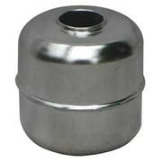 NAUGATUCK GR-730N Tubed Magnetic Float Ball,Round,1-1/8 In
