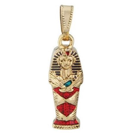 Egyptian King Tut Coffin Pendant Jewelry Accessory Egypt Necklace Art](King Accessories)