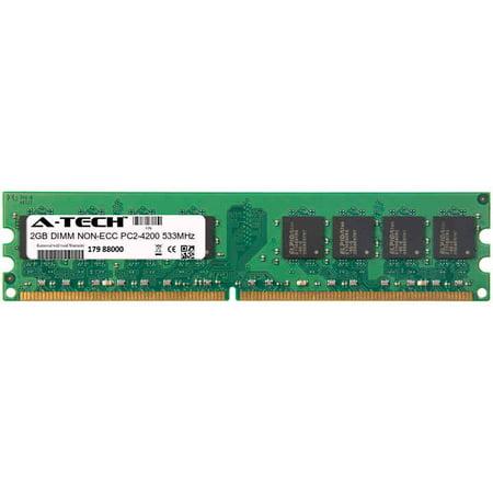 2GB Module PC2-4200 533MHz NON-ECC DDR2 DIMM Desktop 240-pin Memory Ram 4200 Ddr2 533mhz Dimm Memory