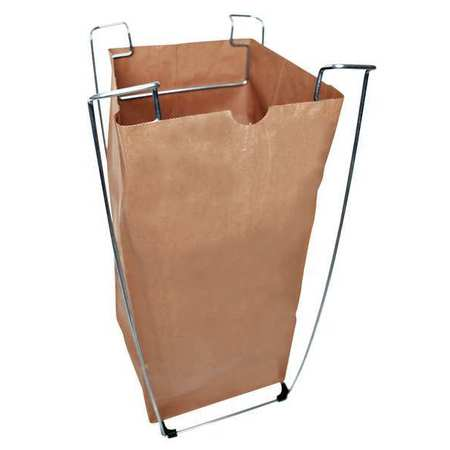 TOUGH GUY Portable Bag Holder,55 Gallon 6PAK2