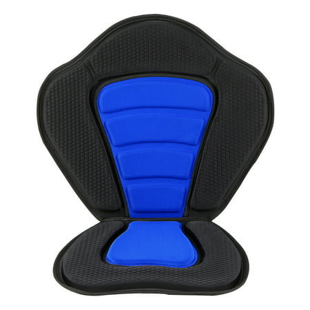 Deluxe Padded Kayak / Boat Seat Soft and Antiskid Padded Base High Backrest Adjustable Kayak Cushion with Backrest