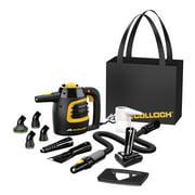 McCulloch MC1230 Powerful Multi Purpose Deep Clean Floor Handheld Steam Cleaner
