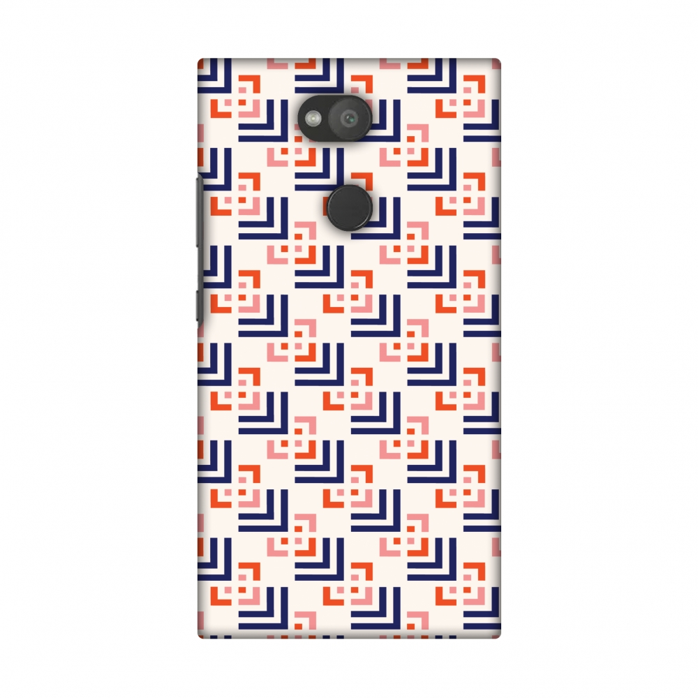 Sony Xperia L2 Case, Premium Handcrafted Designer Hard Shell Snap On Case Printed Back Cover with Screen Cleaning Kit for Sony Xperia L2, Slim, Protective - Connectors