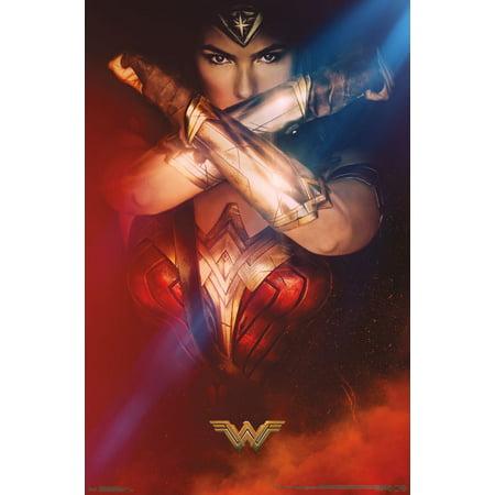 Trends International Wonder Woman Bracelets Wall Poster 22.375